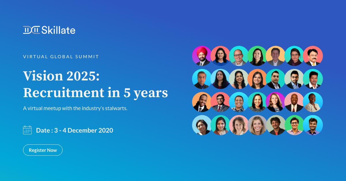 Vision 2025: Recruitment in 5 years