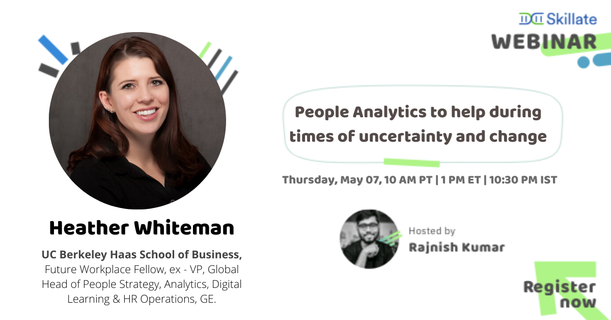 People Analytics to help during times of uncertainty and change