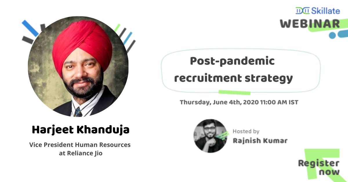 Post-pandemic recruitment strategy