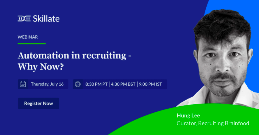 Automation in Recruitment - Why now?