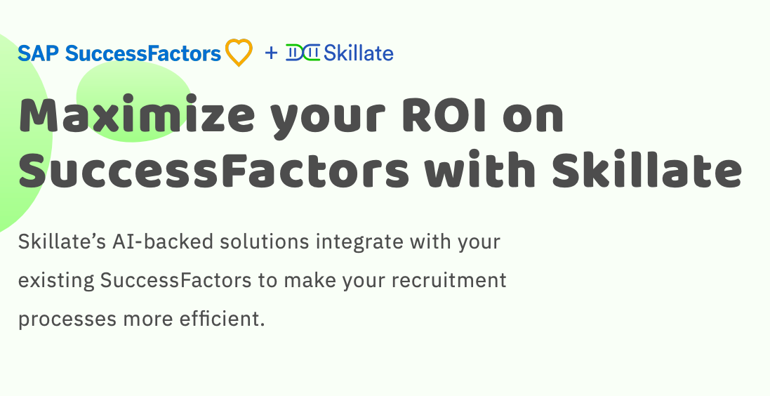 Maximize your ROI on SuccessFactors with Skillate