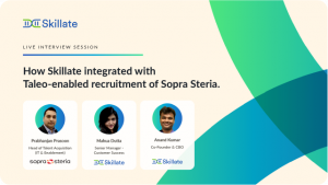 How Skillate integrated with Taleo-enabled recruitment of Sopra Steria